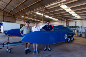 Bluebird arrives in Dumbleyung.